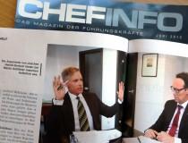 AUGE-Sprecher Gstöttner, IV-Boss Haindl-Grutsch: Harter Schlagabtausch der Argumente