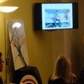 Präsentation des Flüchtlingswohnheims von SOS-Menschenrechte