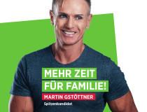 Plakat Martin Gstöttner Familie